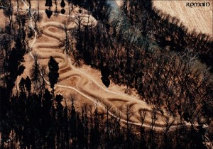 Aerial View of Serpent Mound
